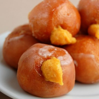 Pumpkin Pie Filled Donuts