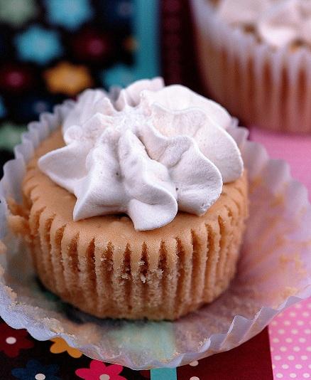 Irish Coffee Cheesecake Bites with wrapper opened up