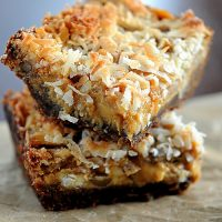 Pumpkin Gingersnap Magic Bar