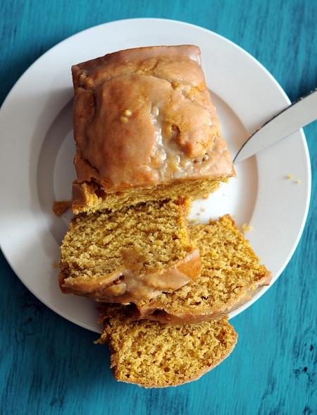 Pumpkin Nutella Pound Cake With Maple Pecan Glaze Recipe ...