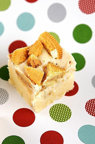 Gingerbread Oreo Fudge
