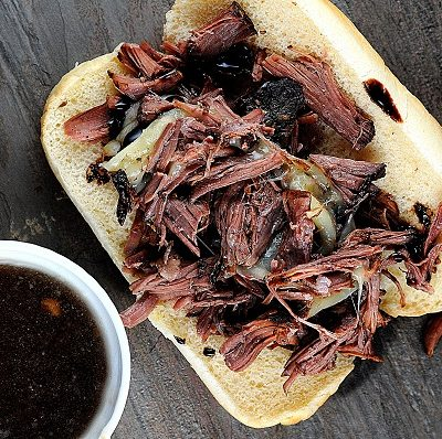 One heck of a good sandwich….