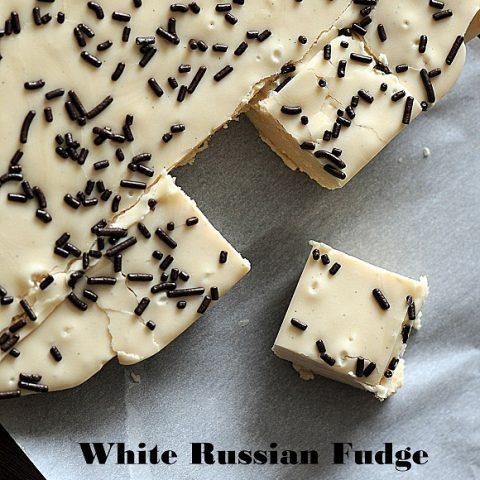 White Russian Fudge