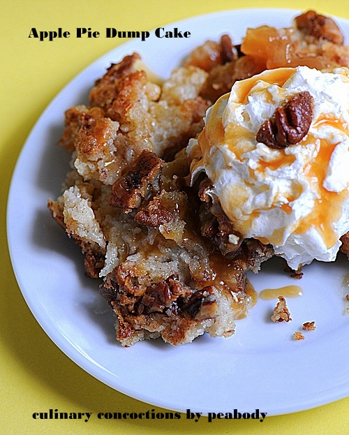 Dump Cake Using Apple Pie Filling