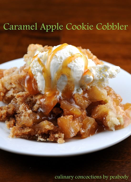 Apple Cobbler With Cake Ideas and Designs