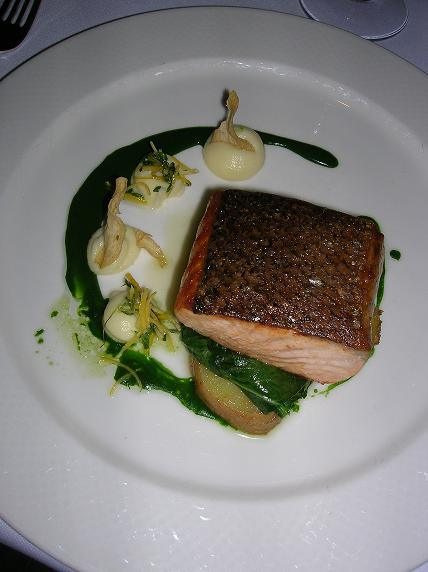 Pacific King Salmon with Potatoes and Preserved Lemon from Canlis