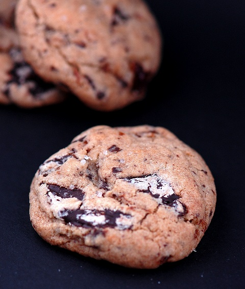 chocolate chunk cherry espresso cookies