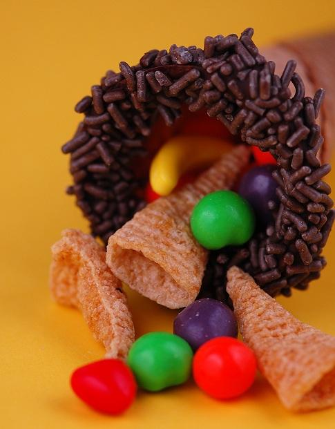 candy cornicopia