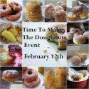 Time to Make the Doughnuts….