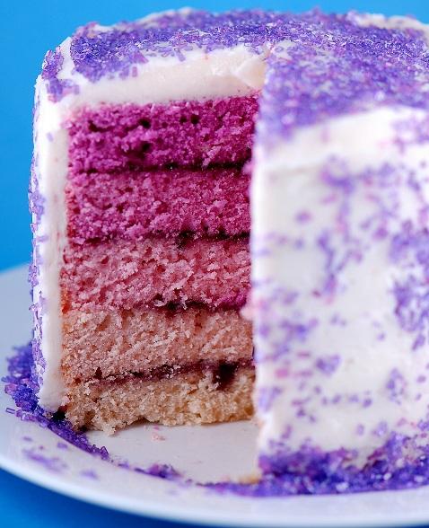 grape jelly purple layer cake