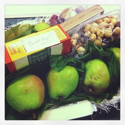 My Harry and David trip and what I did with all my pears…