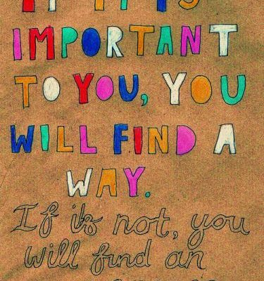 What is important…