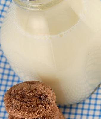 Milk and cookies make the world a better place…