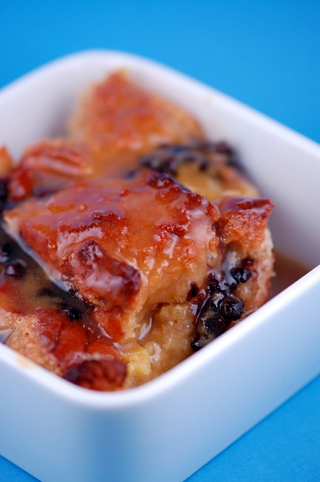 orange chocolate chip bread pudding