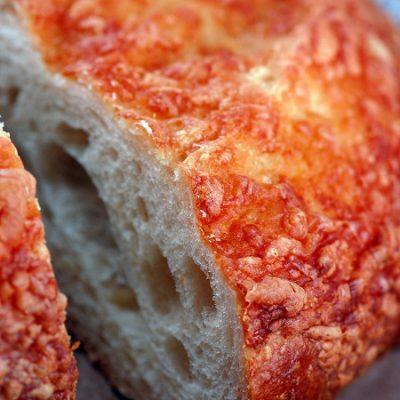 Panera's Asiago Cheese Bread…as a pudding…