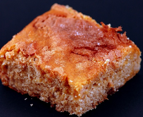 snickerdoodle pumpkin bar