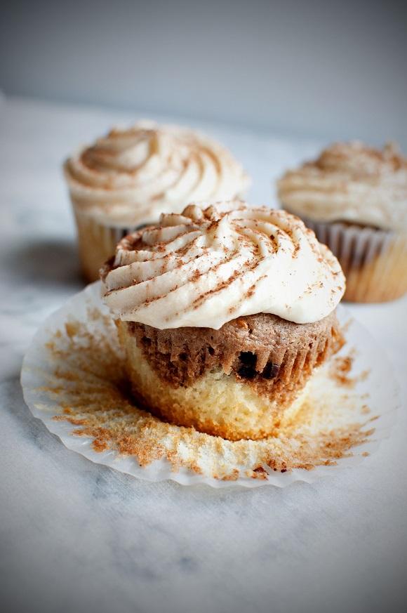 Coconut Mocha Tiramisu Cupcake 4