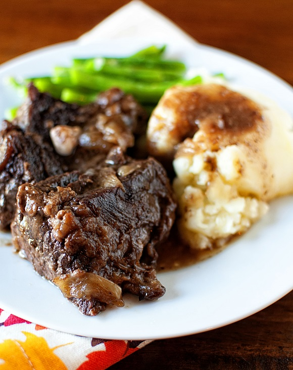 Caramelized Root Beer Short Ribs
