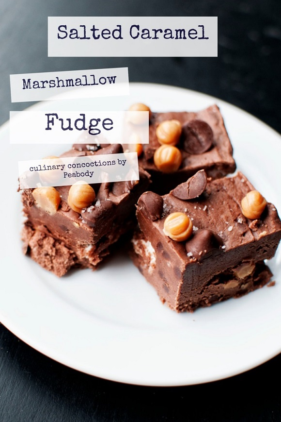 Salted Caramel Marshmallow Fudge Pin