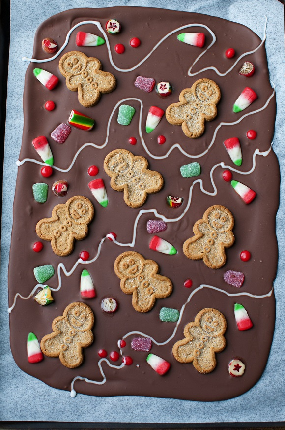 Gingerbread House Bark