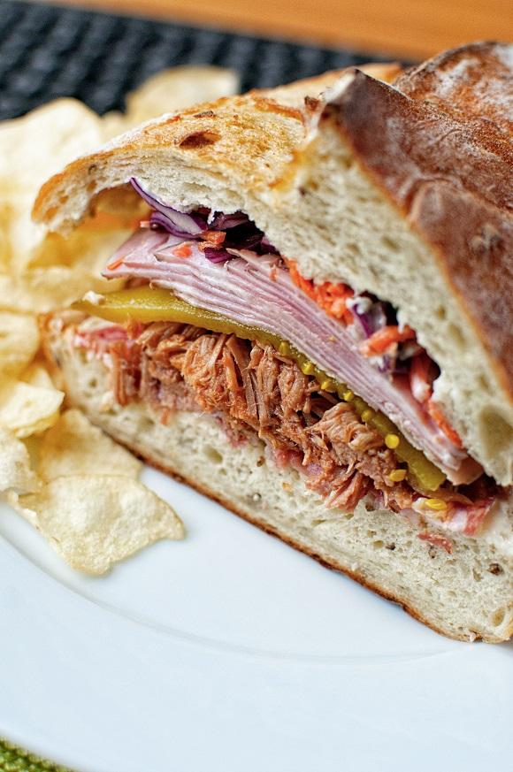 American Bahn Mi Fusion Sandwich