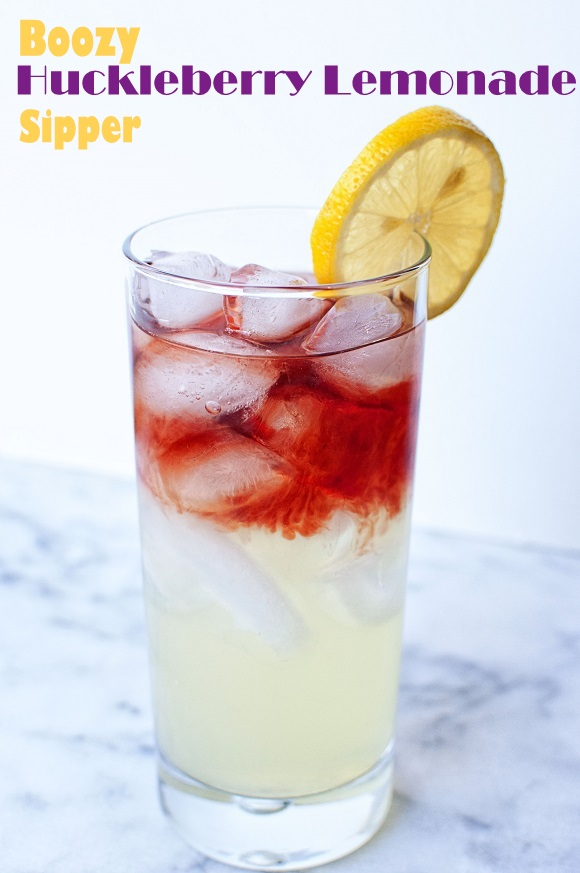 Huckleberry Lemonade Sipper
