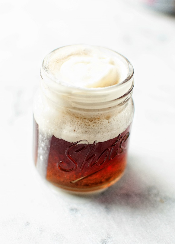 Jack and Coke Float Shot