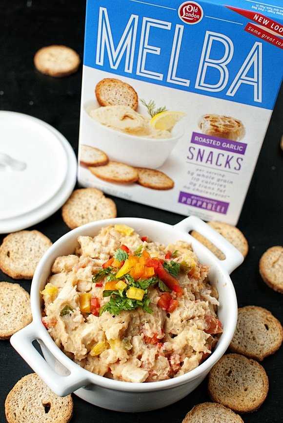 Southwest White Bean and Chicken Dip 03