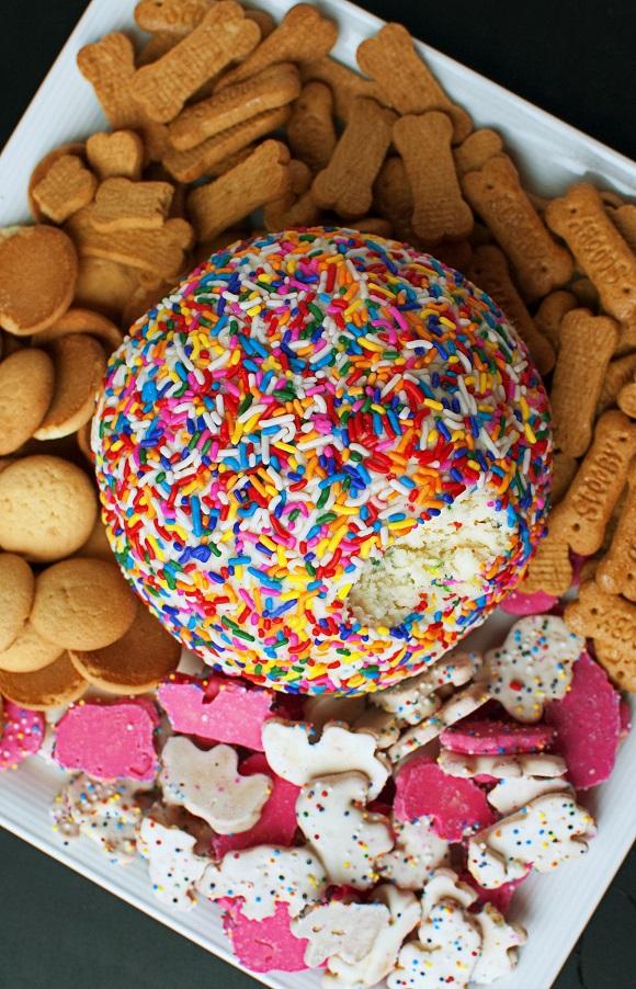 Cake Batter Cheesecake Cheeseball 3