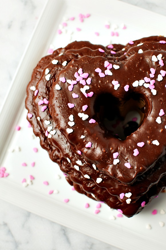 Cheerwine Chocolate Pound Cake 1