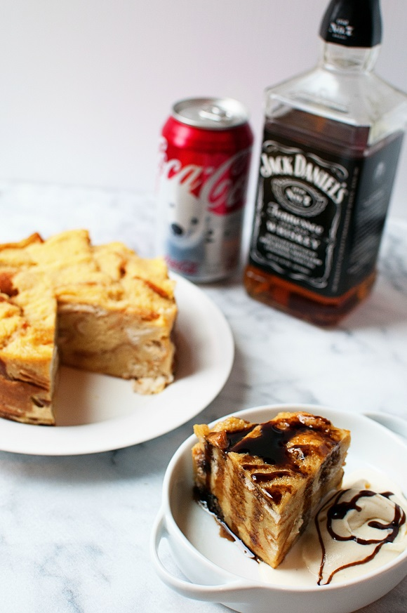 Jack and Coke Bread Pudding