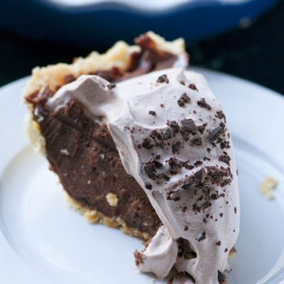 Nutella Chocolate Cream Oh My Pie