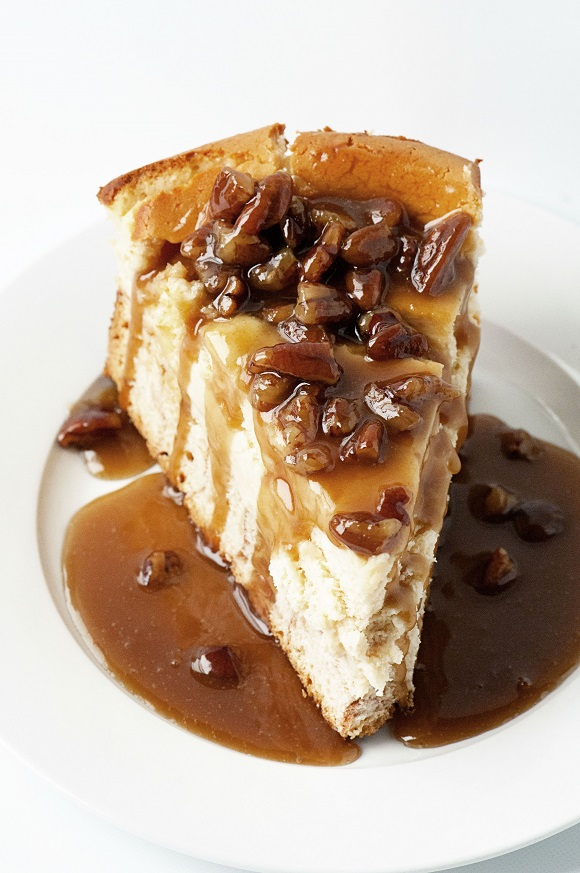 Monkey Bread Cheesecake