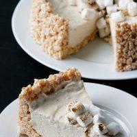 Toasted Marshmallow No Bake Cheesecake