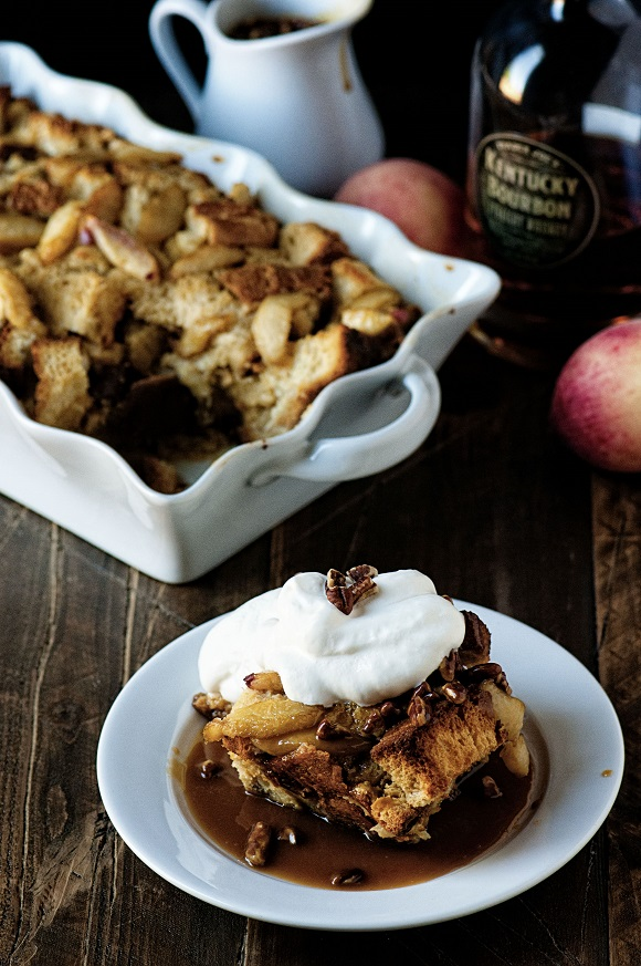 Bourbon Peach Bread Pudding 04