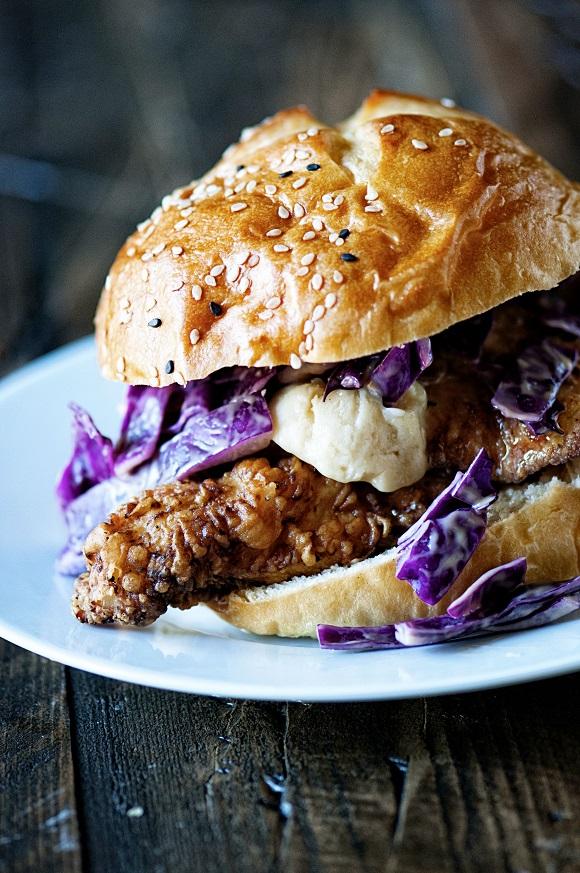 Honey Butter Fried Chicken Sandwich 01