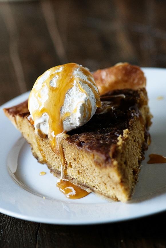 Pumpkin Gingerdoodle Pie