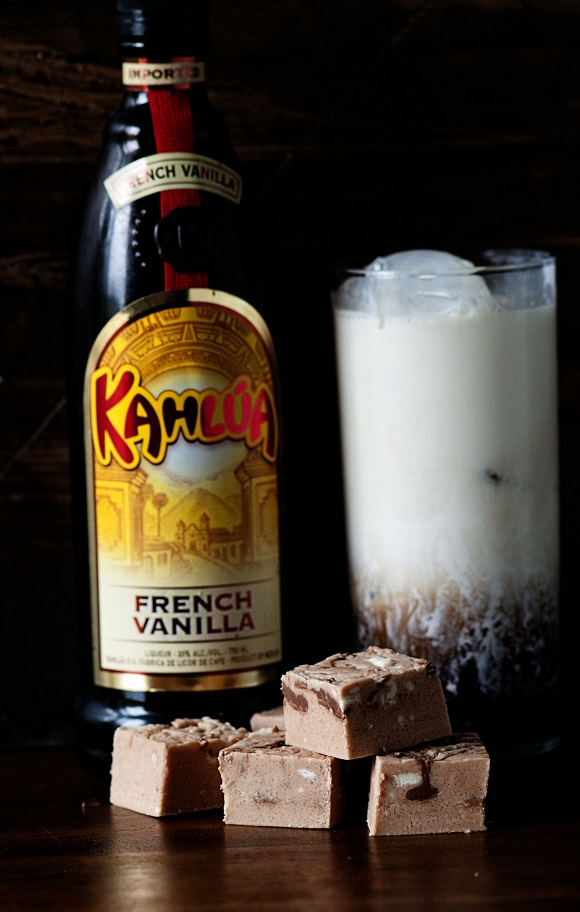 Kahlua and Cream Fudge 01