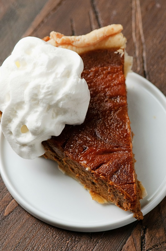 Pumpkin Cookie Butter Pie 02