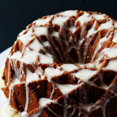 Cranberry Orange Spice Bundt Cake