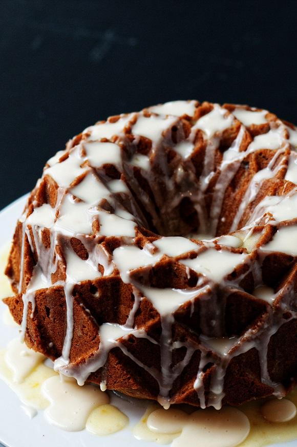 Cranberry Orange Spice Bundt Cake
