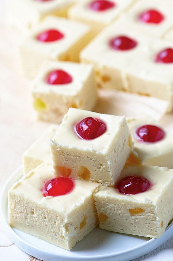 Pineapple Upside-Down Cake Fudge …it's Pineapple Upside-Down Cake ...