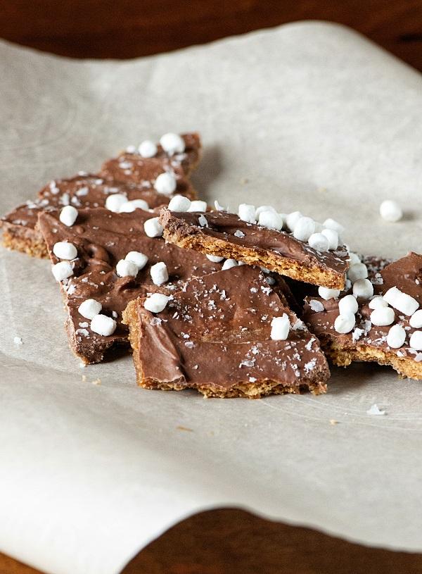 Smores Graham Cracker Toffee 02