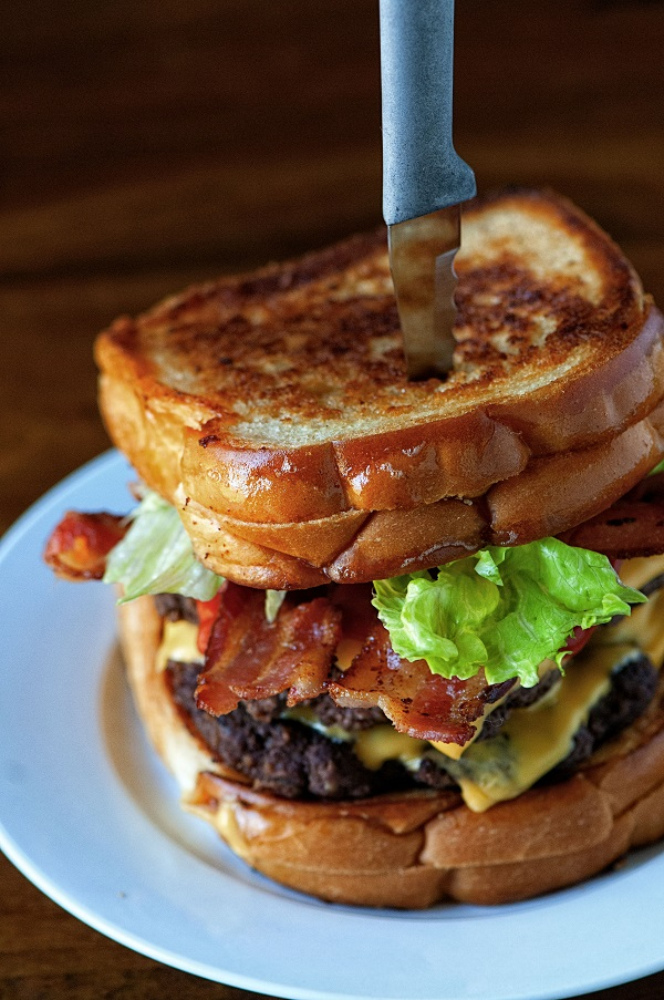 Grilled Cheese Double Bacon Burger 02