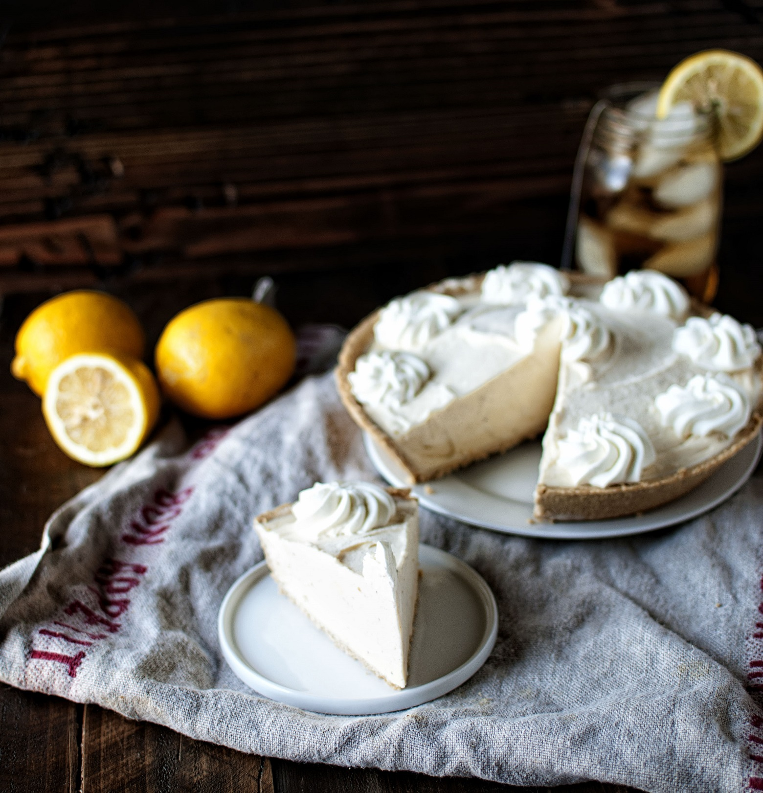 Sweet Tea and Lemonade Icebox Pie 03