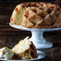 Vanilla Cognac Buttermilk Pound Cake
