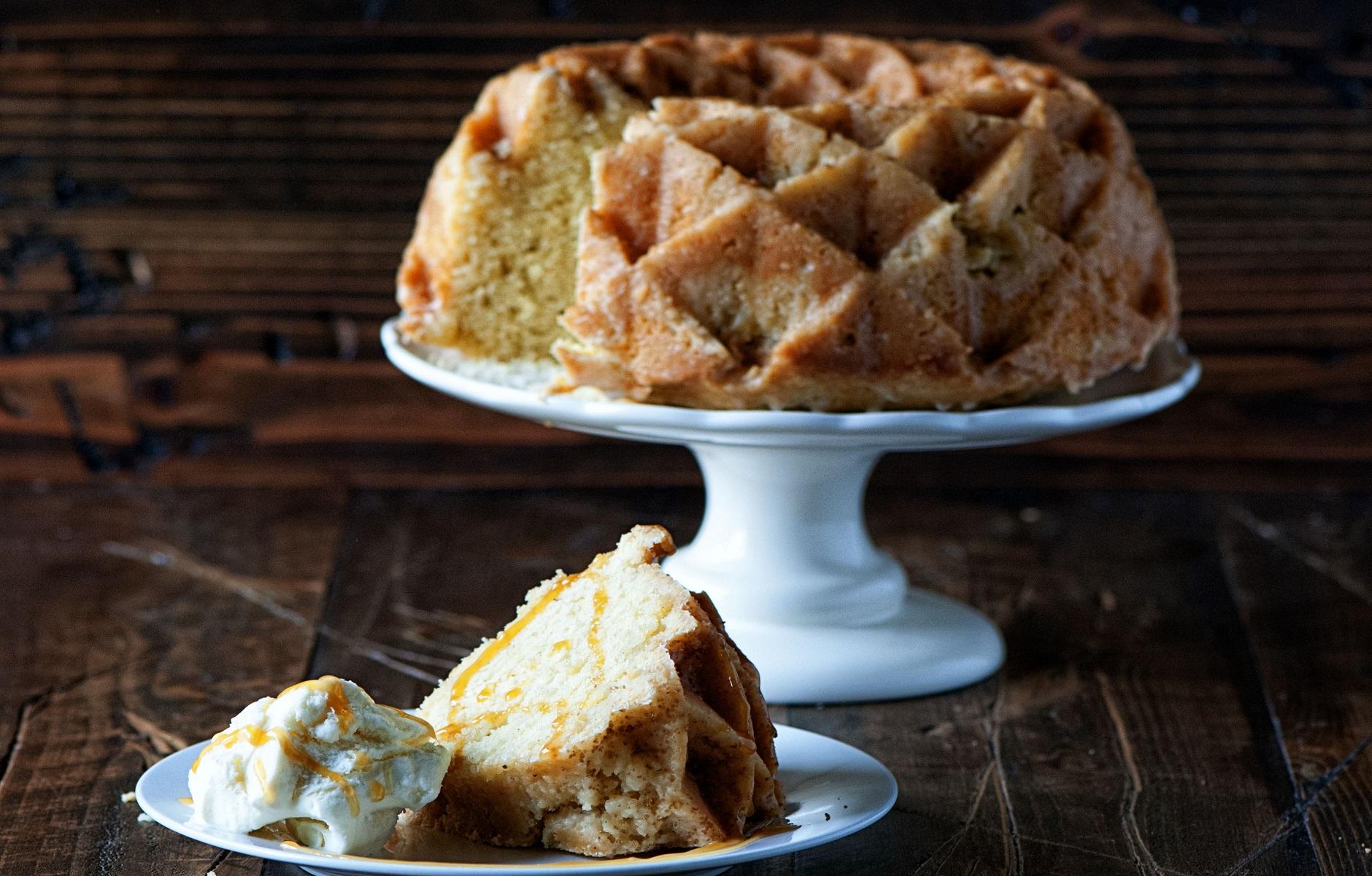 Vanilla Cognac Cake Recipe