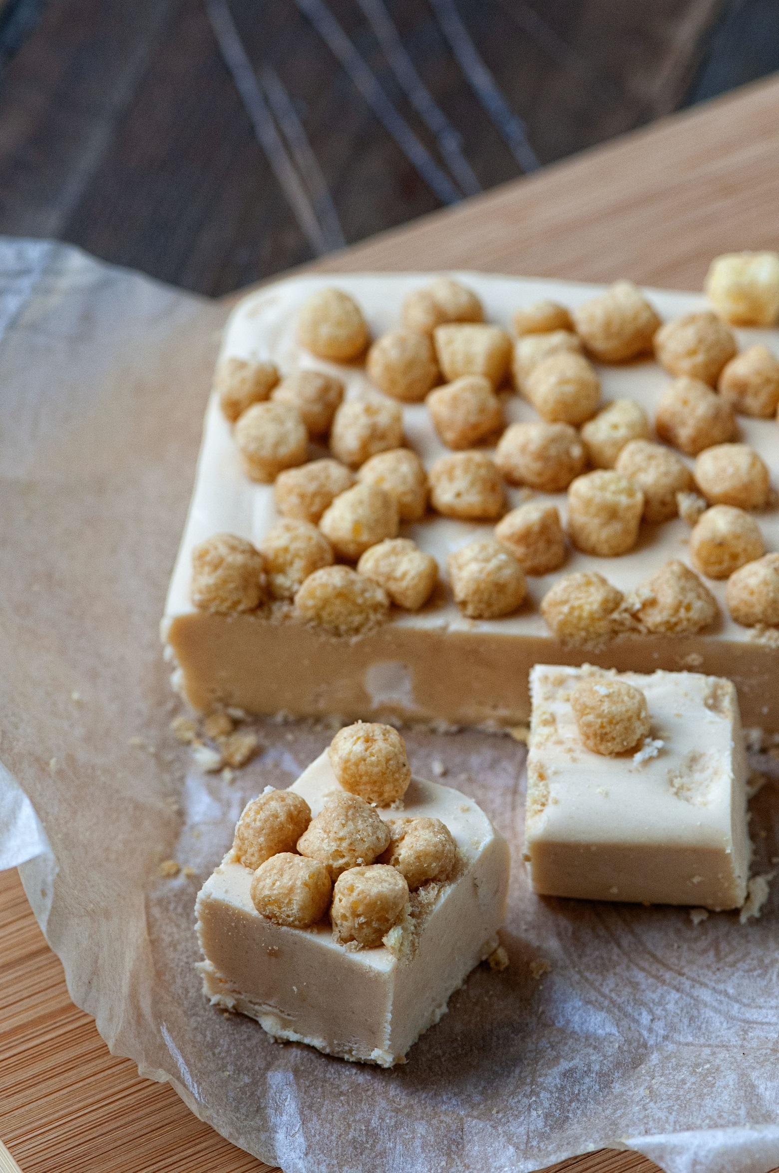 Peanut Butter Captain Crunch Fudge