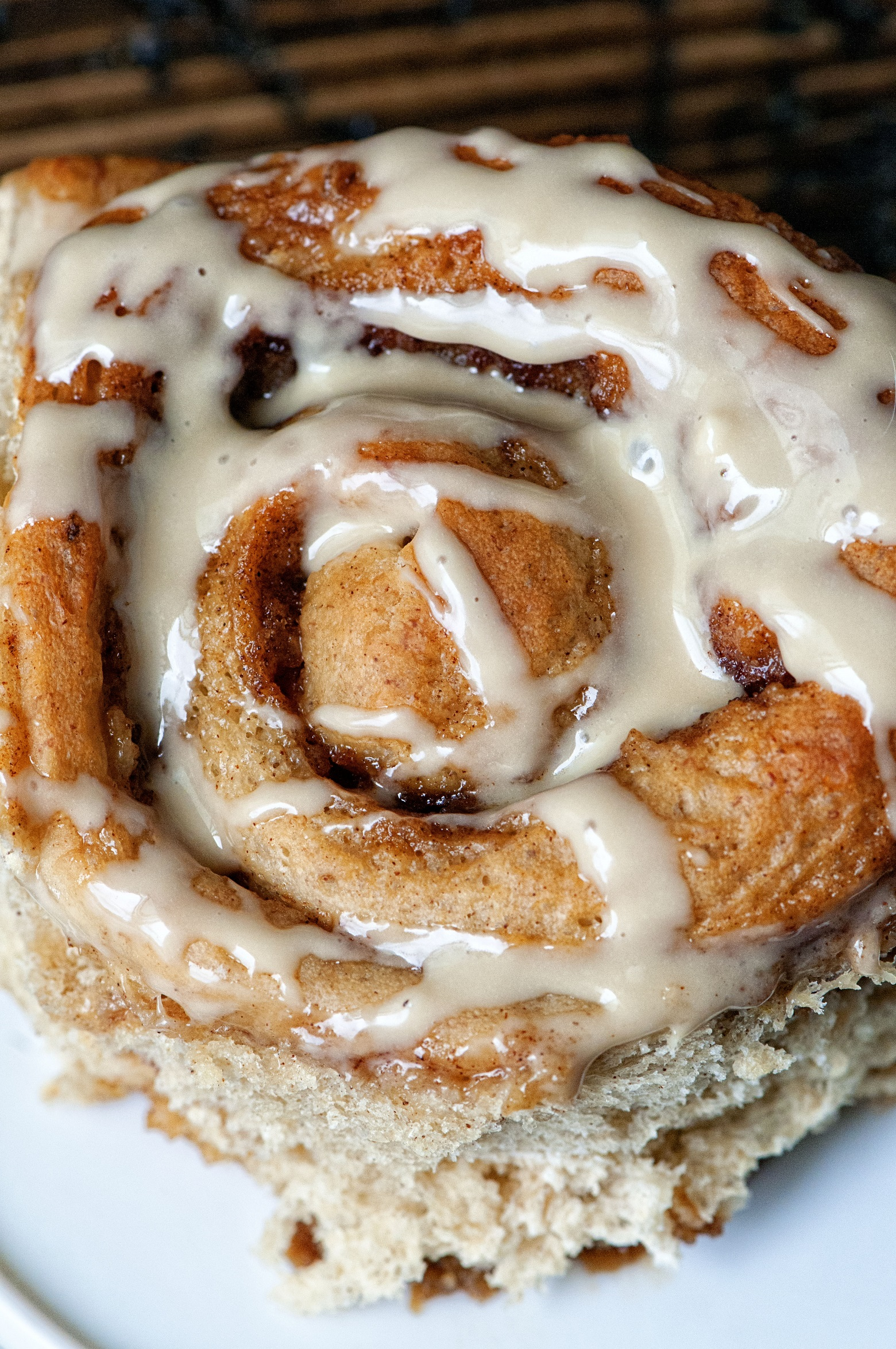 Banana Bread Maple Cinnamon Rolls