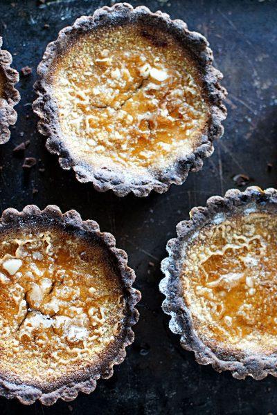 Pumpkin Creme Brûlée Tarts